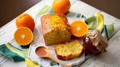 Receta de torta de naranja esponjosa y deliciosa
