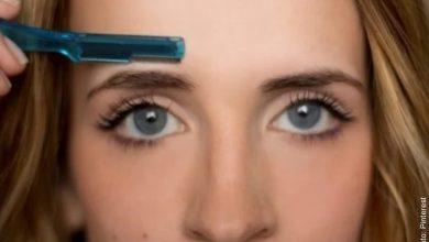 ¿Cómo depilarse las cejas con cuchilla? Sigue este tutorial