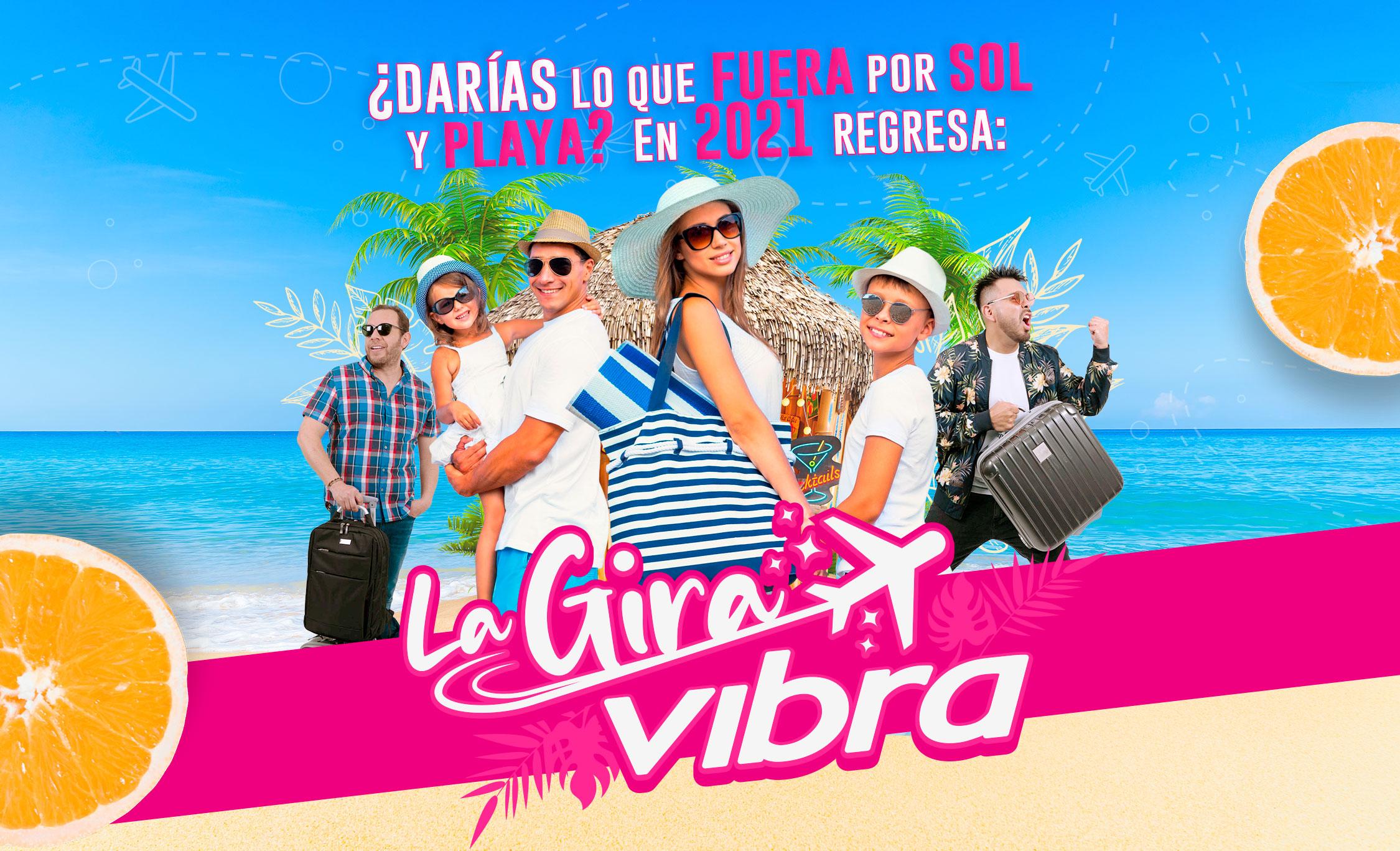 Gira Vibra: Destino San Andrés con tu familia