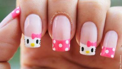 Uñas Hello Kitty, aprende a hacerlas con este tutorial