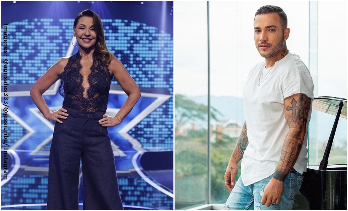 """Amparo Grisales criticó """"con cariño"""" los abdominales de Jessi Uribe"""