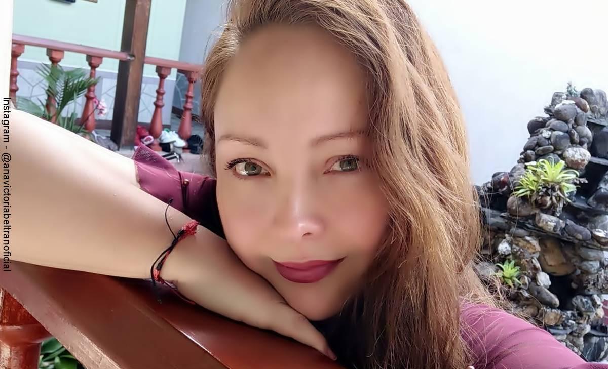 Ana Victoria Beltrán dejó ver su figura en jean ¡Upa Daniela Franco!