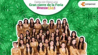Canta con Clara Luna, gran cierre de la Feria Bienestar Live de Compensar