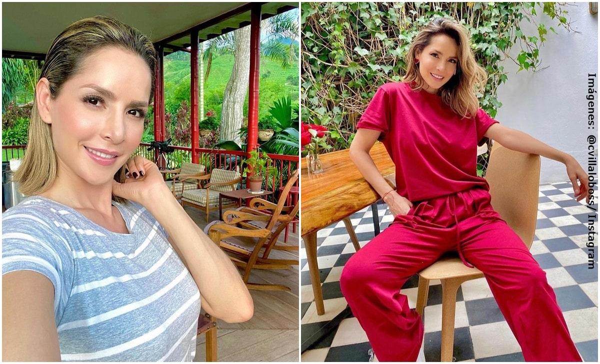 Carmen Villalobos dejó ver cómo broncea su retaguardia en bikini