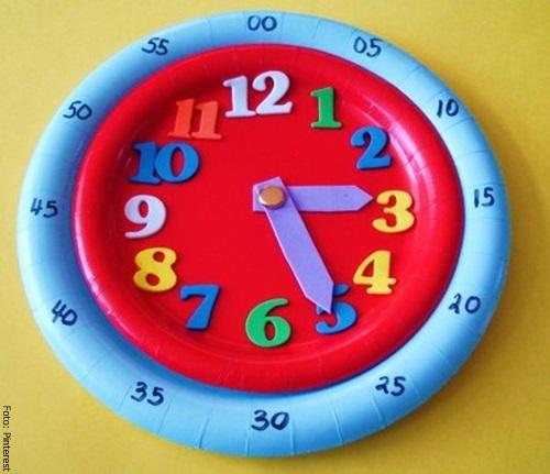 Foto del reloj ya finalizado