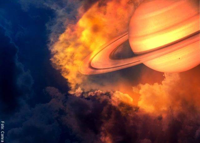 Ilustración de Saturno