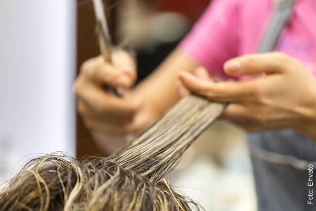foto que ilustra un corte de cabello