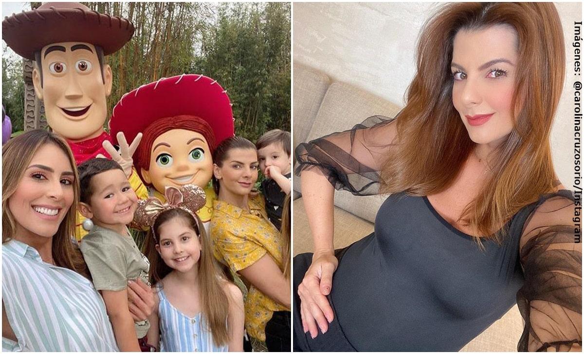 El lujoso baby shower que le hizo Carolina Soto a Carolina Cruz