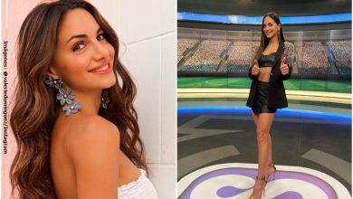 En sensual lencería, Valerie Domínguez presumió su tonificada figura