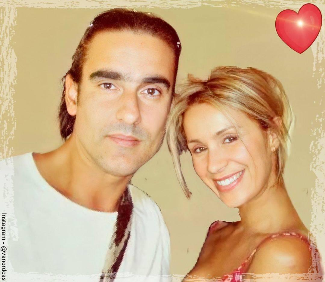 Foto de Miguel Varoni y Catherine Siachoque jóvenes