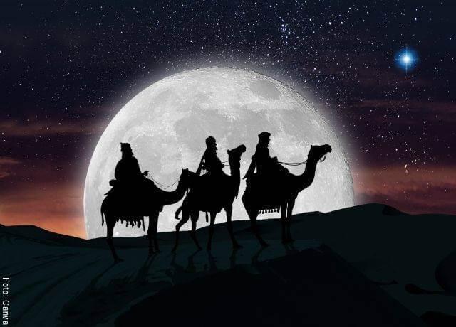 Ilustración de los 3 Reyes Magos