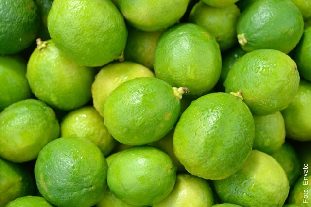 foto de limones verdes