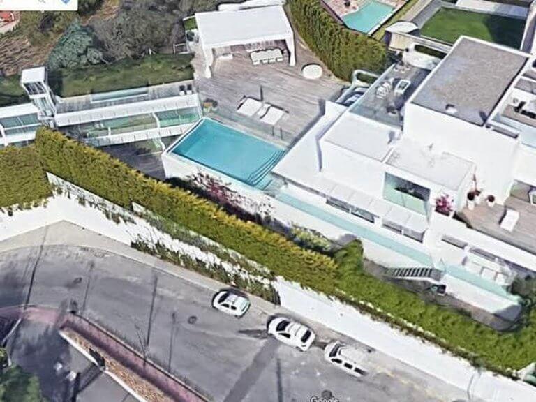 Foto de una de las mansiones de Shakira y Gerard Piqué en Barcelona