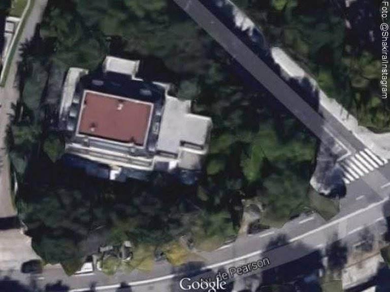 Foto de casa de Shakira en Barcelona