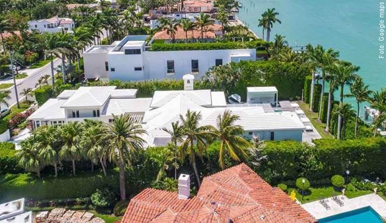 Foto de casa de Shakira en Miami