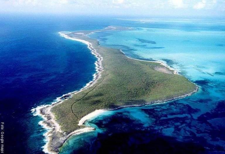Foto de Isla en la Bahamas donde Shakira tiene una lujosa casa