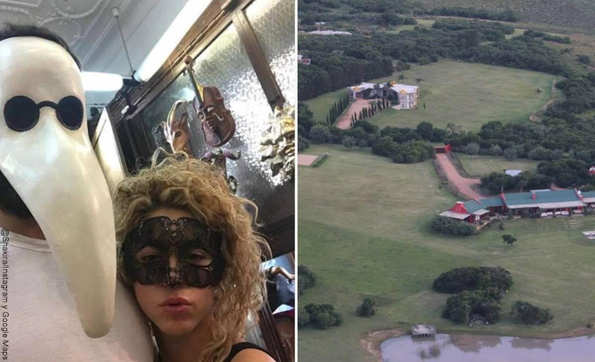 Mansiones de Shakira y Gerard Piqué, además de la de Barcelona