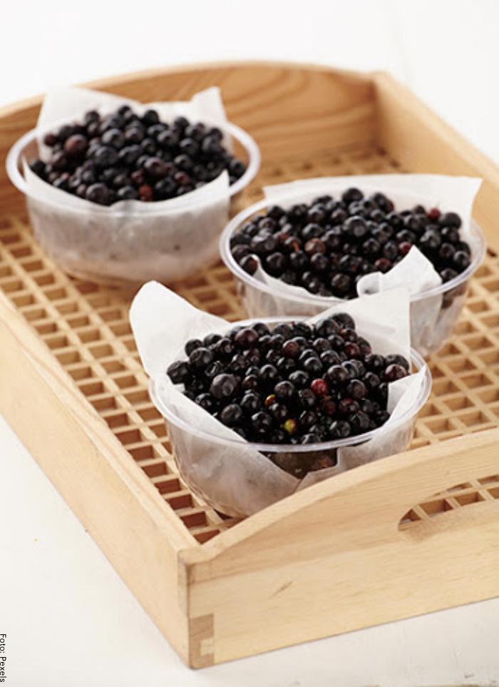 Foto de fruta de agraz para ilustrar para qué sirve el agraz