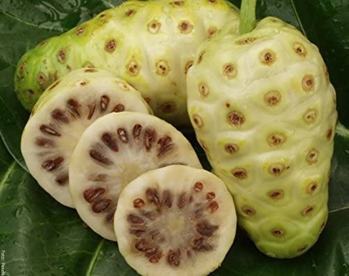Foto de este fruto cortado en trozos