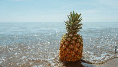 Foto de una fruta que muestra para qué sirve la piña