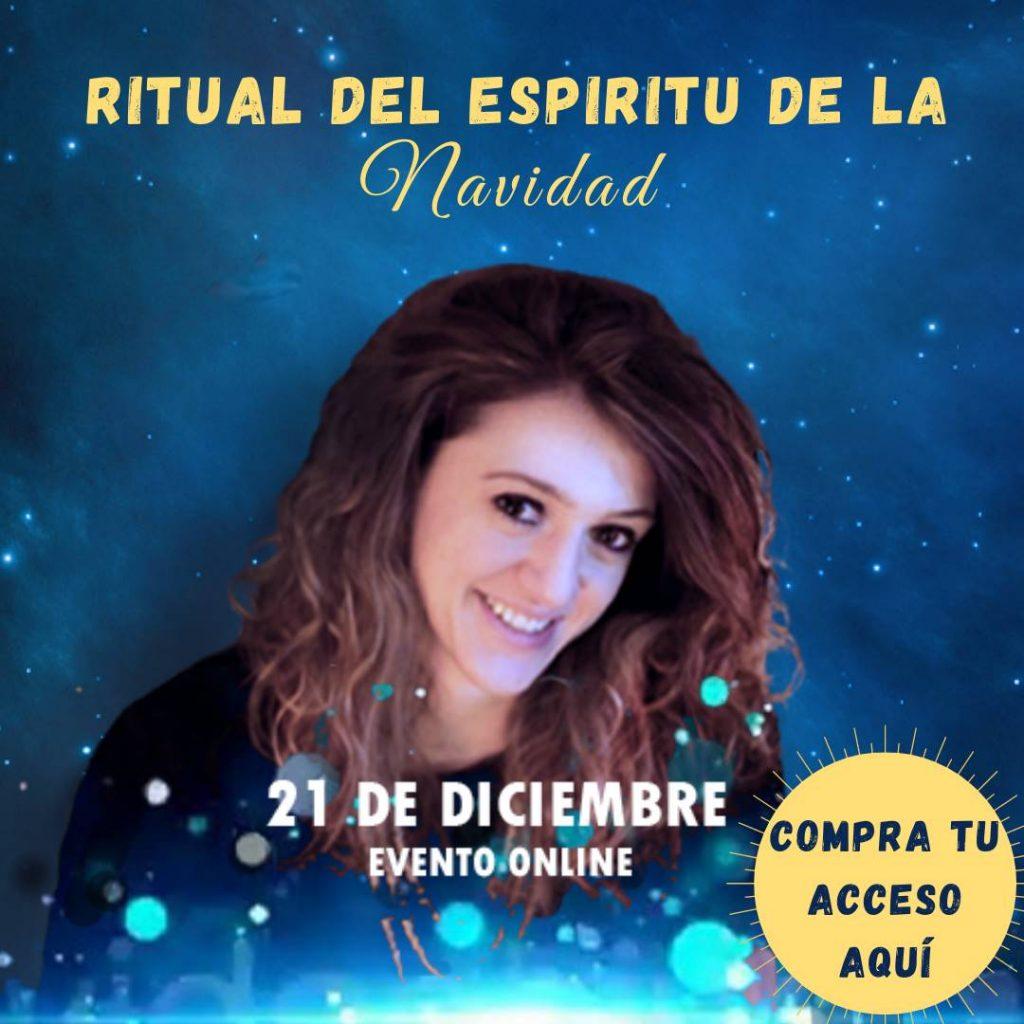 Foto con el enlace de compra para participar en el Ritual de Navidad