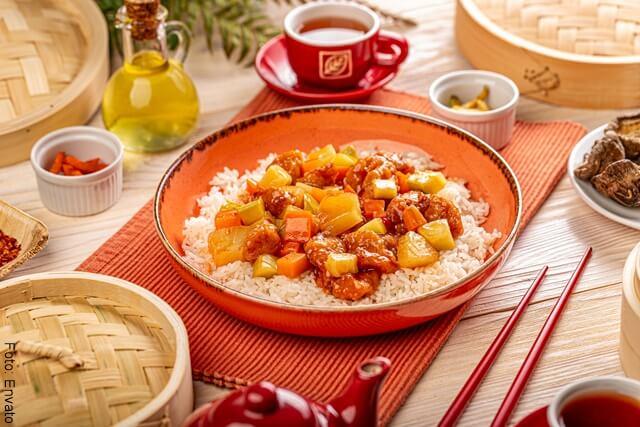foto de plato de comida