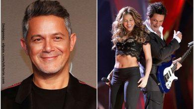 Alejandro Sanz recordó divertida anécdota con Shakira