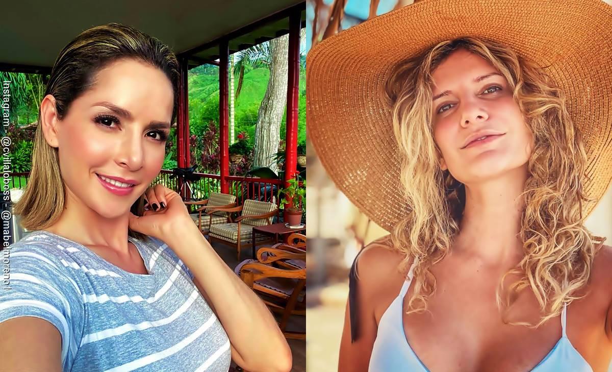 Carmen Villalobos y Mabel Moreno ¡Una pareja explosiva!