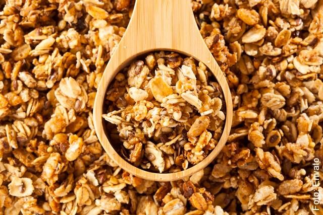 foto de cereal de fibra