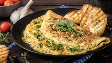 Cómo hacer omelet delicioso, ¡pero rápido!