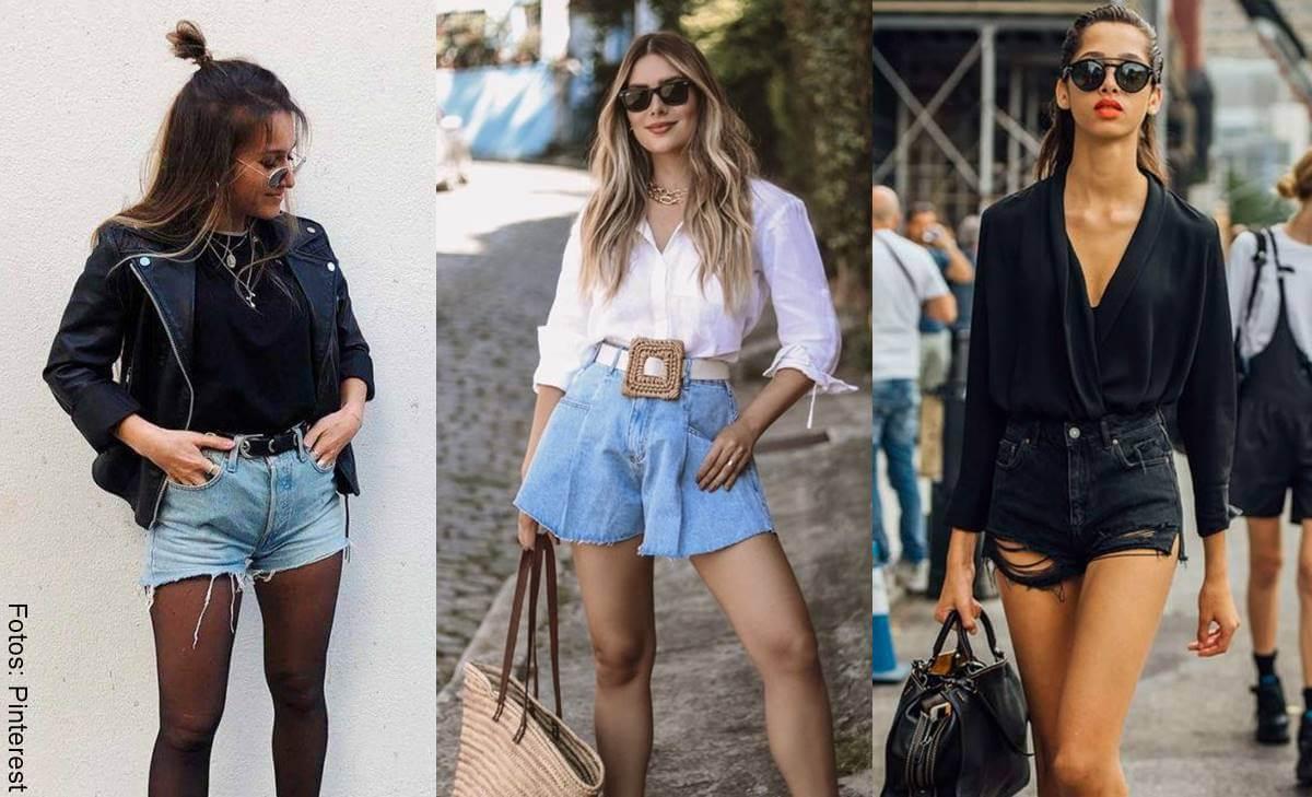 El short de jean está de moda y te mostramos cómo lucirlo