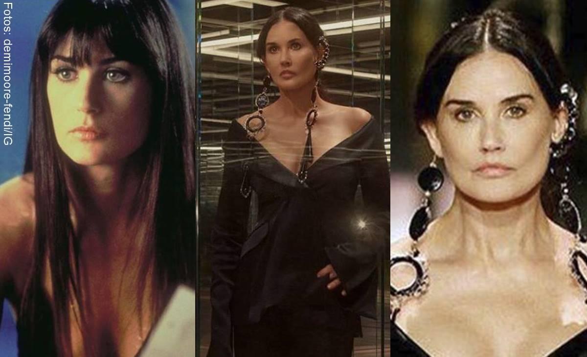 Fotos antes y después de Demi Moore