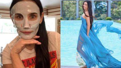 Este es el nuevo rostro de Demi Moore, ¿cambió mucho?