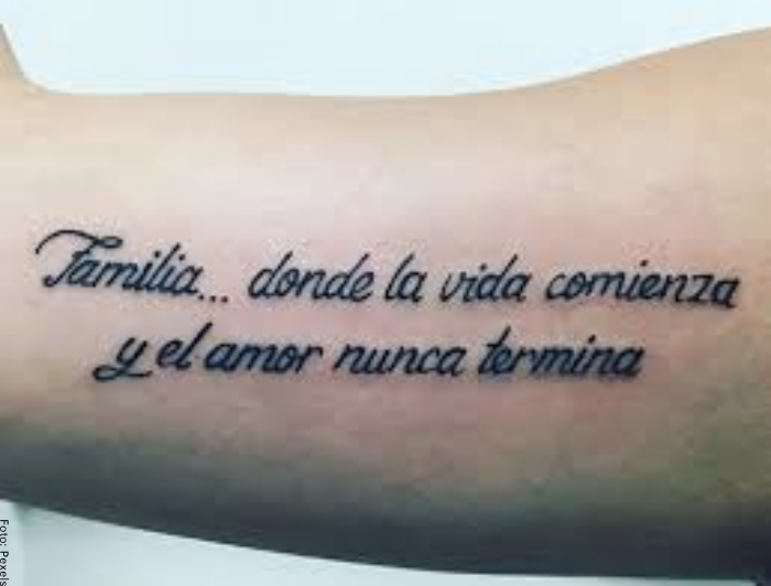 Foto de un tatuaje para hombre