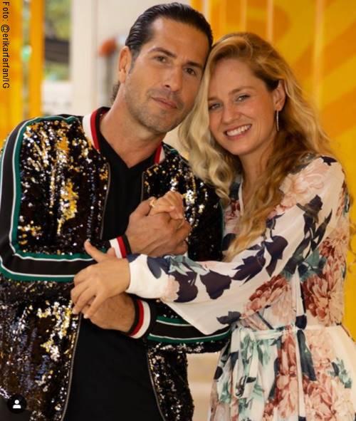 Foto de Gregorio Pernía y su esposa