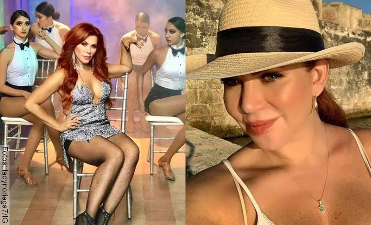 Lady Noriega bailó en bikini y no se le movió nada