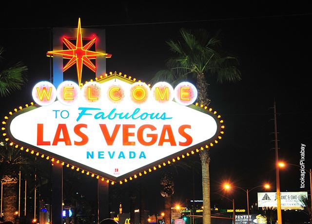 Foto del letrero de bienvenida a Las Vegas