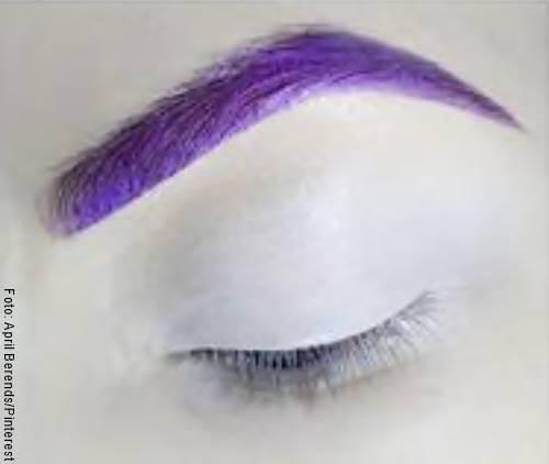 Foto del paso 1 del maquillaje de unicornio