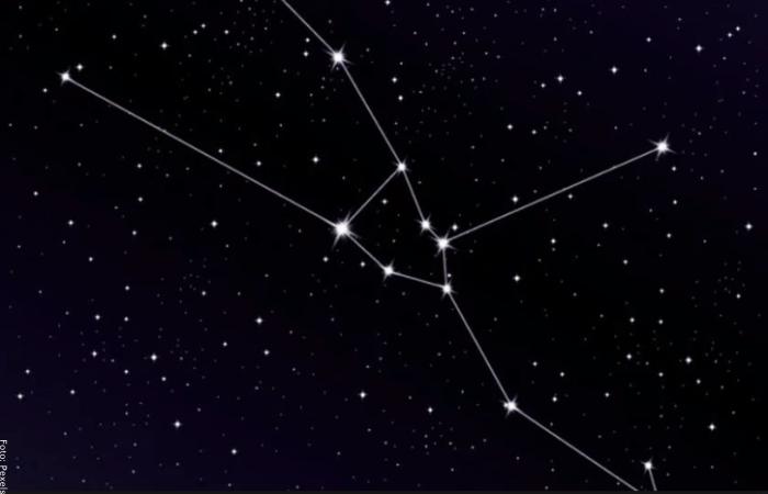 Foto de constelacion de tauro