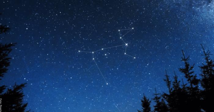 Foto de la constelación canis mayor