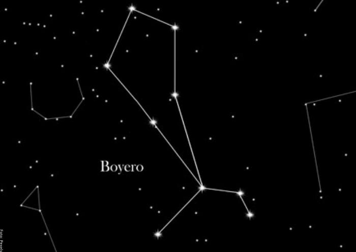 Foto de la constelación el boyero