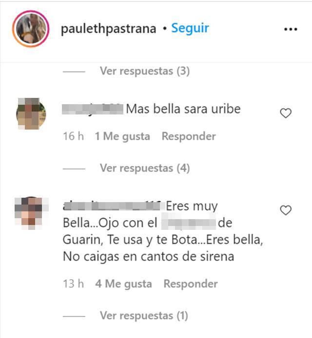 Print de Instagram con comentarios