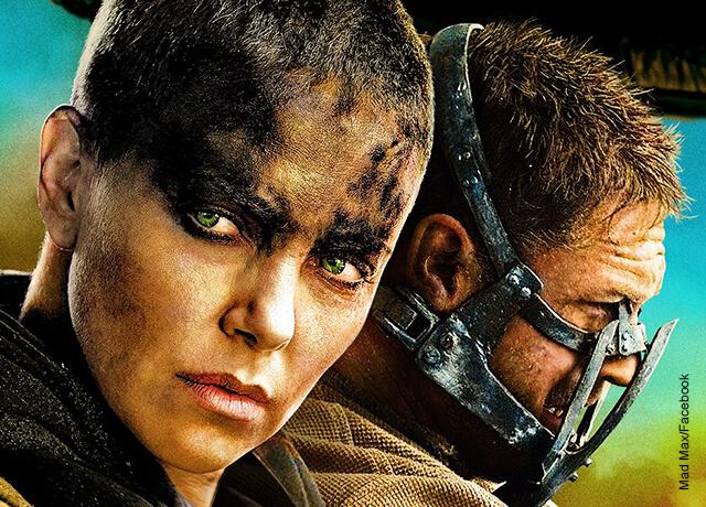 Foto de los protagonistas de las películas de acción Mad Max