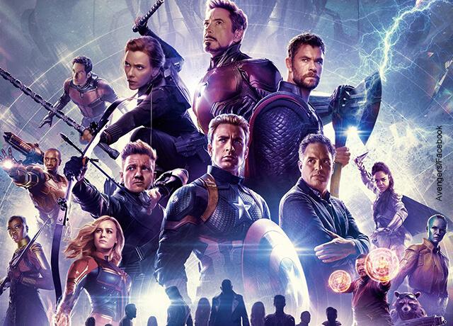 Foto de los protagonistas de la película Avengers