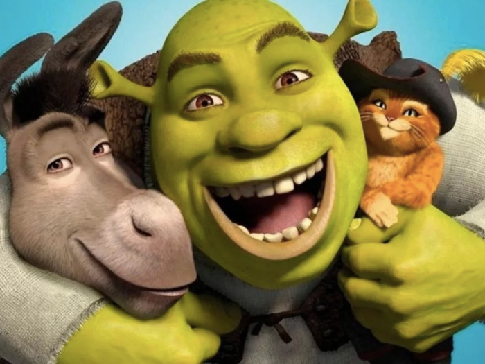 Foto de Shrek para ilustrar películas de muñequitos