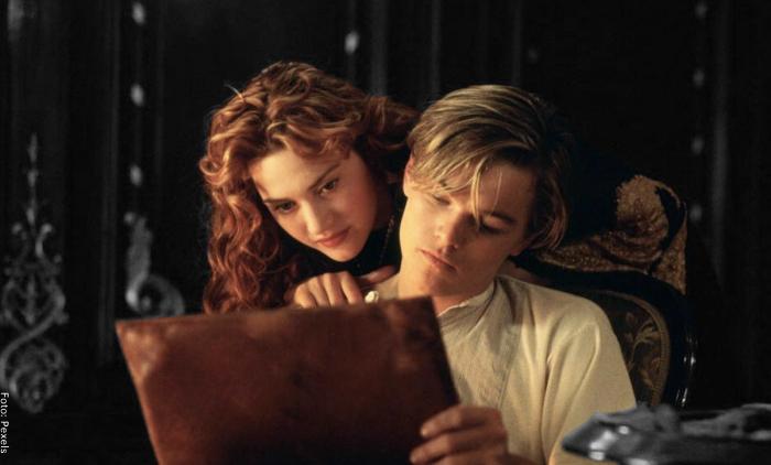 Foto de una escena de la película Titanic