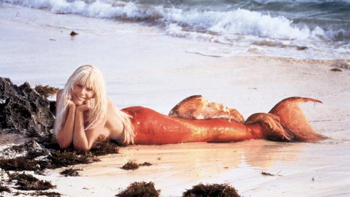 Foto de una escena de la película Un, dos, tres… Splash