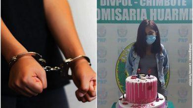 Por hacer covidfiesta, arrestan y obligan a joven a posar con pastel