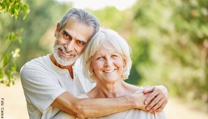 Foto de una pareja de ancianos