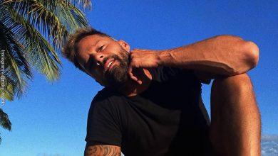 Ricky Martin hizo un cambio extremo en su rostro